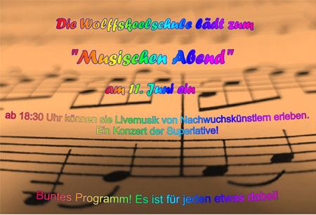 musikfest auf dem Pausenhof