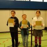 v.l.n.r.: Noah Hemberger, Luke Finnegan und Clara Heimbold